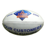company logo on afl football