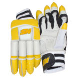 batting cricket gloves with logo