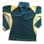 long sleeve polo cricket