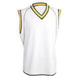 cricket vests embroidered
