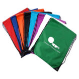 Polycolourful propylene Draw string bags