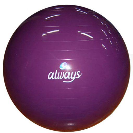 exercise ball with logo