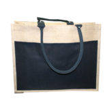 hessian shopping bags with logo