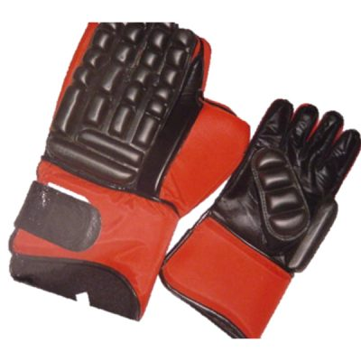 hockey goal keeping gloves