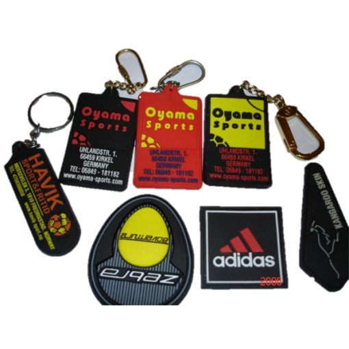 keyrings with company logo