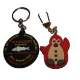 animal keyrings with logo