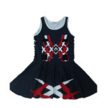 custom printed netball dresses