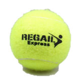 tennis ball with logo