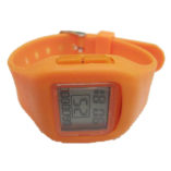 silicone watch with logo