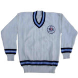 cricket jumper with logo