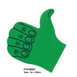 thumbs up with logo