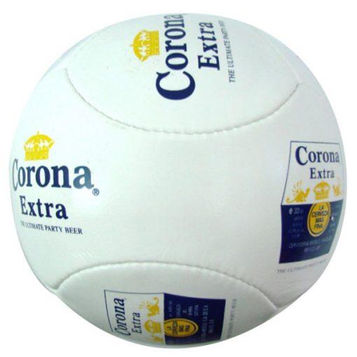 branding with logo soccer balls
