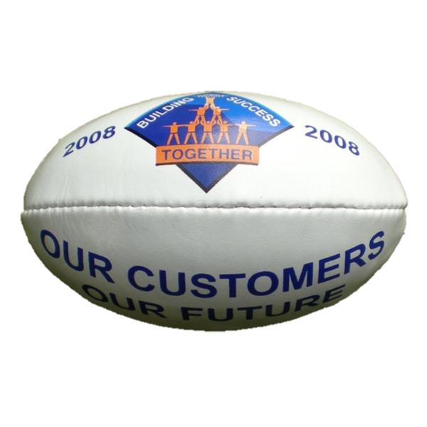 company logo on afl football