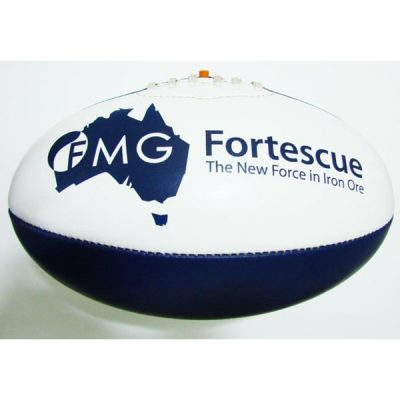 australian rules football printed