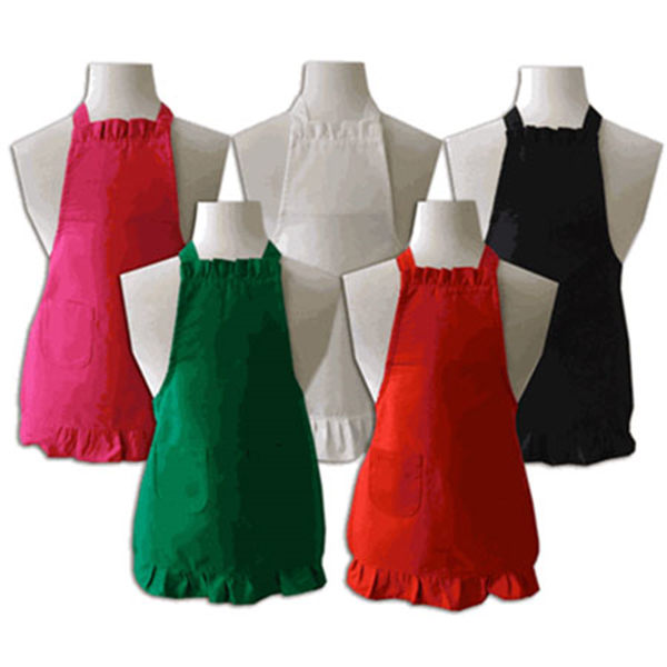 aprons with logo