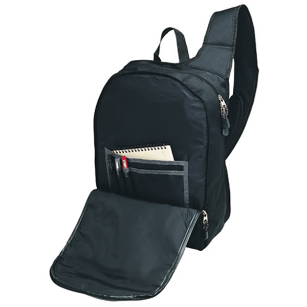 school bag with logo