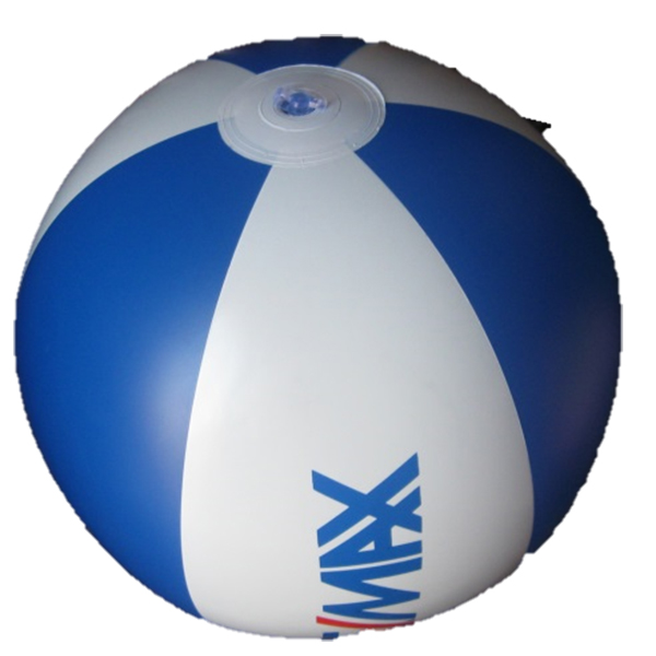 inflatable ball with logo