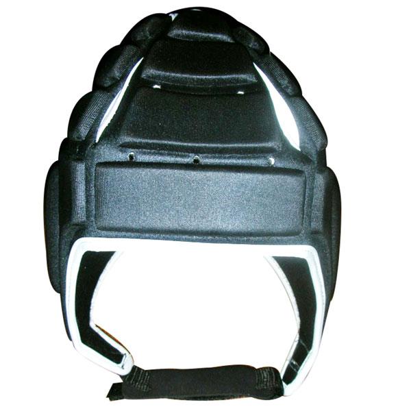leather boxing helmet