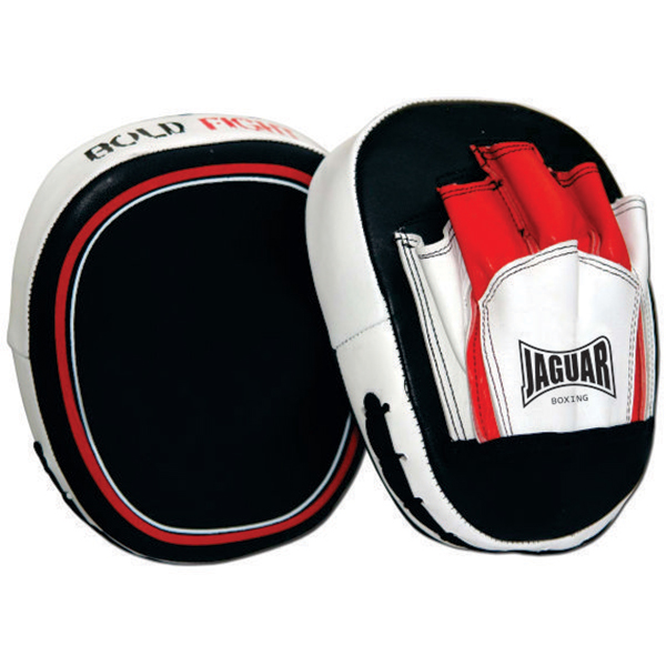 boxing focus pads leather
