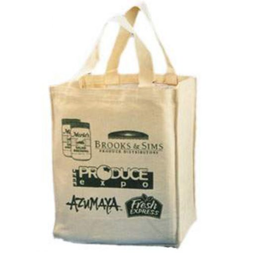 shopping bag canvas with logo