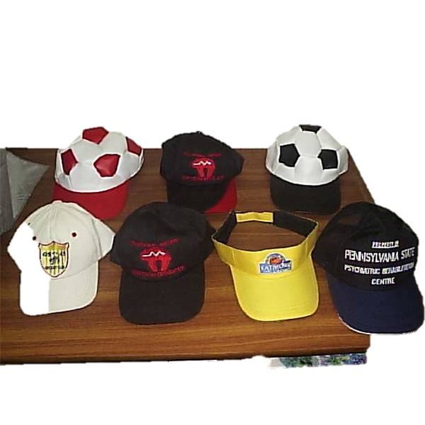 Caps and Hats branded with company logo or team by Melton Enterprises c41821c7bbc