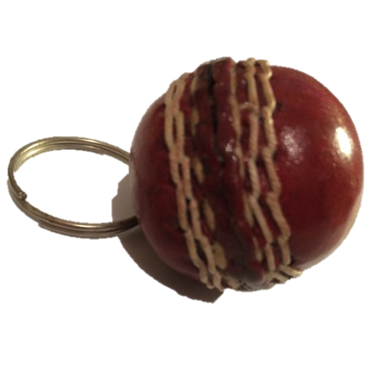 cricketball key ring