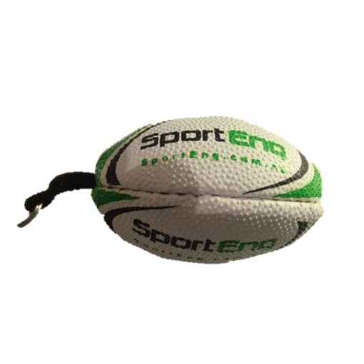 rugby keyring