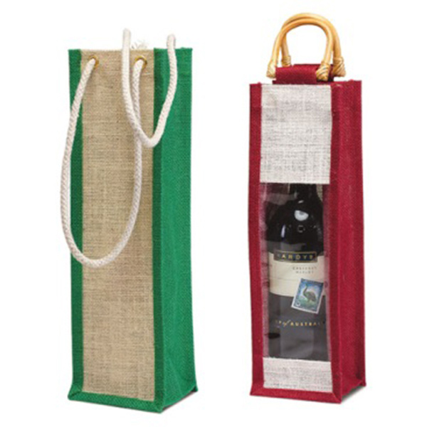 hessian wine bags