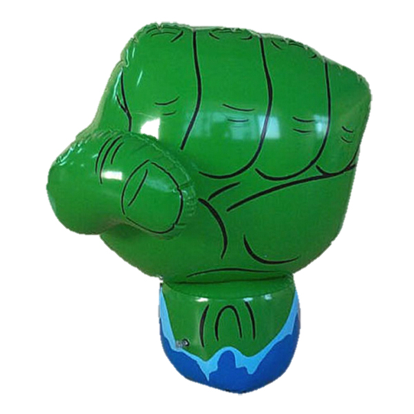 inflatable fist