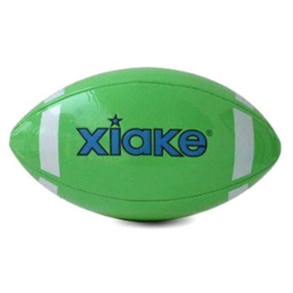 Rugby ball with printing