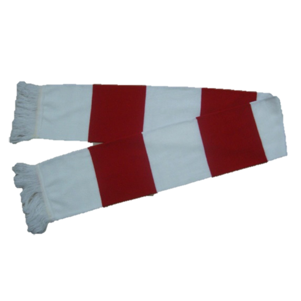 scarf in team colours