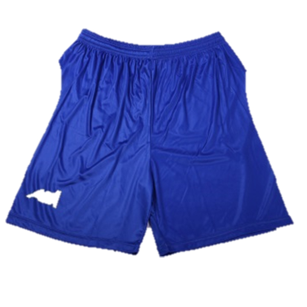 soccer shorts with team logo