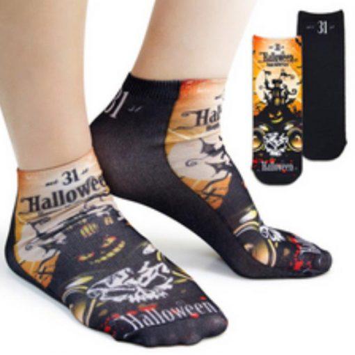 sublimate printed ankle socks