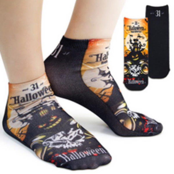 sublimate printed ankle socks