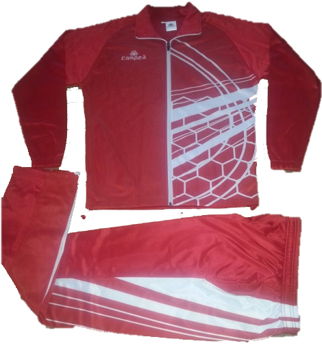 soccer jacket and pants