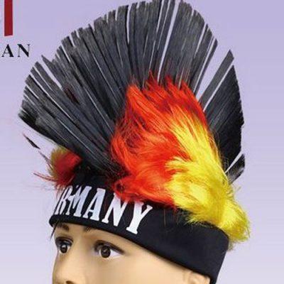 wig mohawk fan gear