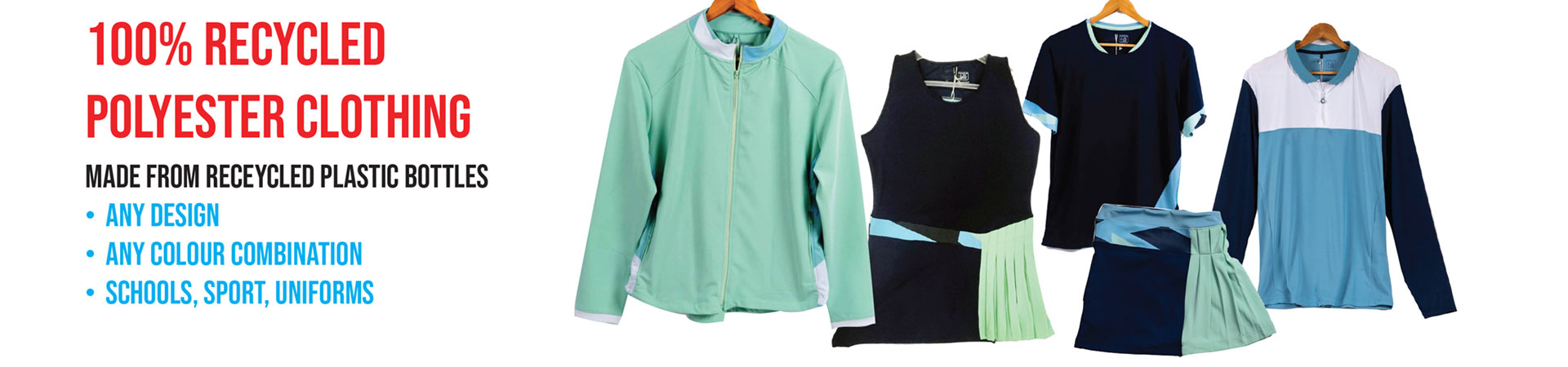 recycled sportswear and uniforms