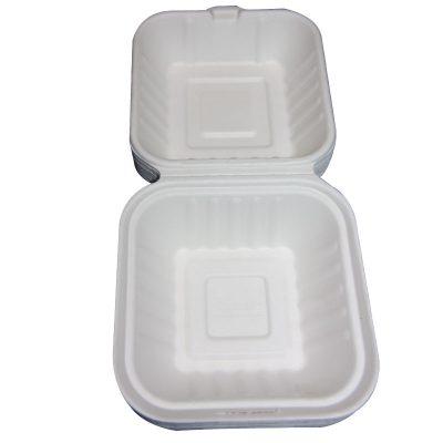 hamburger box 450ml recycled biodegradable