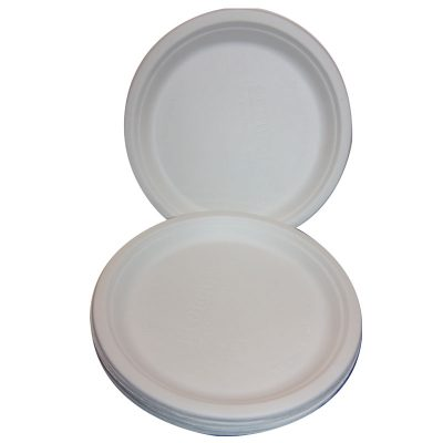 round plates recycled biodegradable