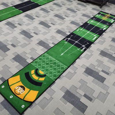 golf putting practic mat gift